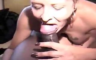 juvenile black shlong for older white cum-hole
