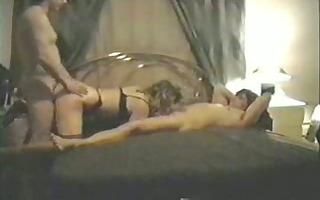 her boyfriend eats her cunt