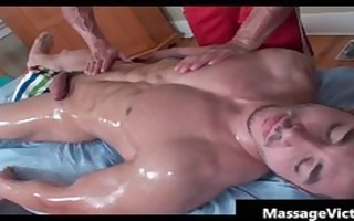 super hot bodied boy acquires oiled for gay part0