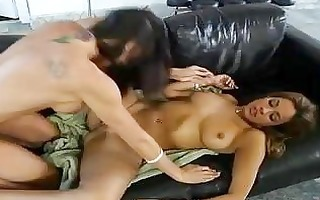 excellent tanned tattooed gals having sexy lesbo