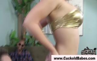 femdom cuckold golden-haired sissifies cuckold