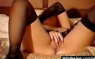 hawt wife plays a immodest hooker