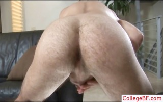 hunky college lad busting his nuts part9
