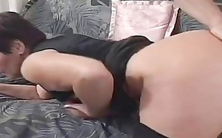 lascivious granny screwed hard by a younger co...