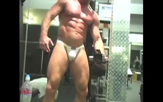 wicked dad filmed at the gym
