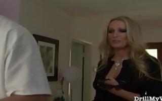 hawt wife doing a lascivious stranger
