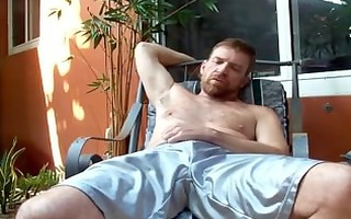 redbearded daddy hairyartist - bulge disclose
