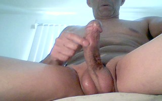 solo jerk off at home, watching porn #5