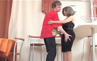 mama is a pervert , harass her stepson aged older