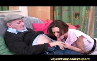 some with our voyeur papy