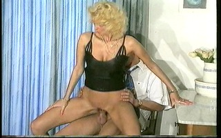 hot golden-haired german mother