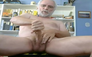 dad plays with his penis