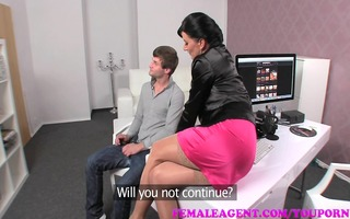 femaleagent mother i catches chap stroking and