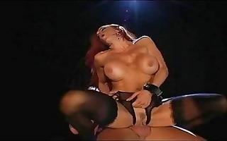 sensual redhead momma with big breast in