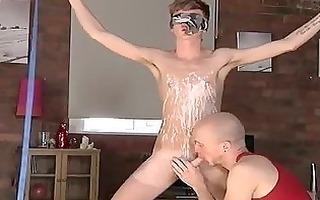astonishing homo scene twink boy-friend jacob
