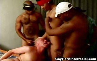 white dude acquires into a group-sex