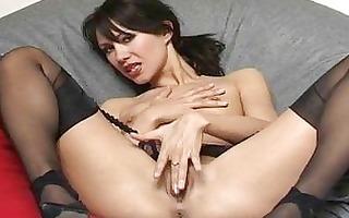 asian beauty spreading snatch and masturbating