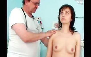mommy terri having wet crack examined by old
