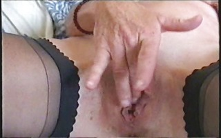 see my hot mum fingering her pussy. stolen