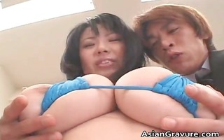 naughty oriental chick with massive meatballs