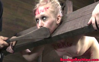 restrained sub paddled until red raw