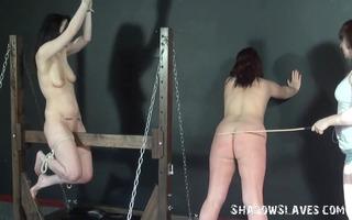 wooden bondage and palm thrashing of 9 caned