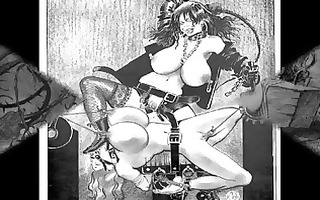 giant breast sadomasochism art