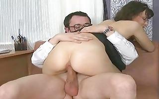 wild fucking with older man
