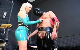 sexy blond fetish nurse