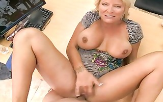 slutty dilettante blond mother i swallows biggest