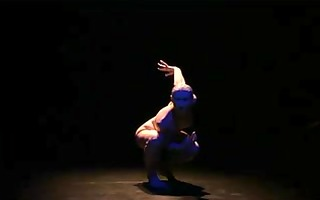 s garb stage performance 9 - butoh solo