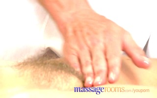 massage rooms older woman with hairy snatch given