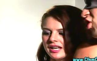 cfnm femdom gals give oral-stimulation
