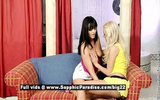 lena and salma breathtaking lesbo cuties fingering