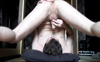 st selfsuck and cum in face hole