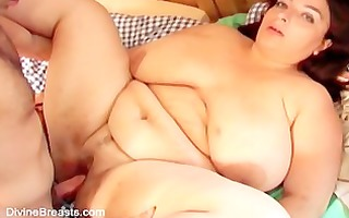 breasty big beautiful woman mature milf has sex