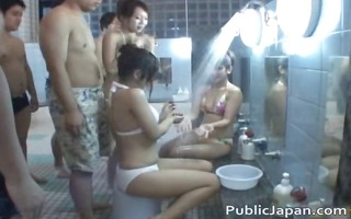 oriental doll acquires spa fun in public jav part9