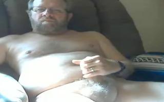 daddy wanks on webcam