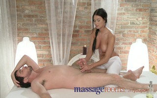 massage rooms innocent youthful masseuse slips