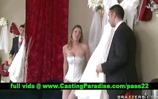 kayla paige breathtaking busty bride