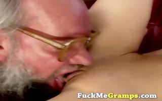 granddad receives actually favourable