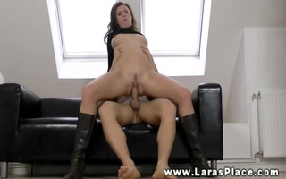 mature babe sucking and fucking for this