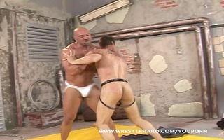 homo monster vs twink unfair fight and ribald sex