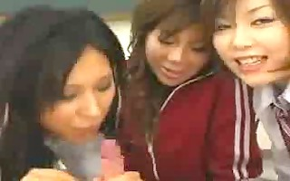 japanese schoolgirls and her teacher