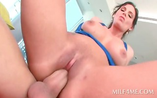 oily hawt mother i fur pie smashed during the