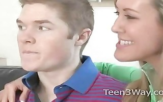 legal age teenager shames her boyfriend and goes