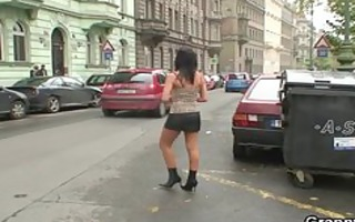 youthful dude bangs old prostitute