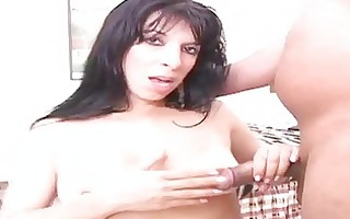 sexy brunette hair d like to fuck shows off her