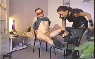 bondage my boy and fuck him