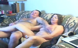 watch mommy and daddy home alone having fun.